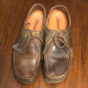 Women's Clark's wallabees size 11